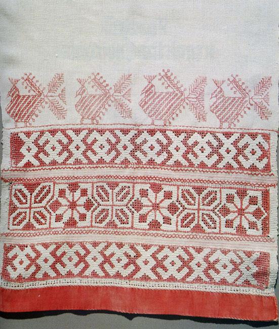 Вышивка русского полотенца 29